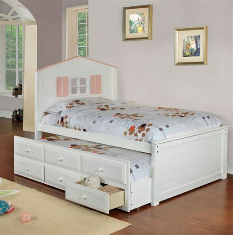 Bed With Drawers Underneath   Decofurnish