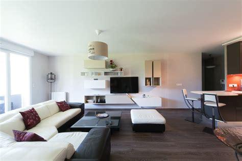 cuisine et salon moderne grand salon avec vue sur un cuisine ouverte moderne