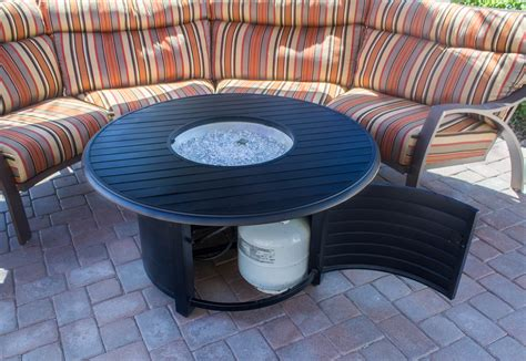 outdoor propane pits