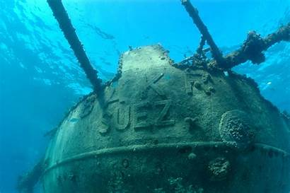 Shipwrecks Underwater Shipwreck Canal Diving Suez Wrecks