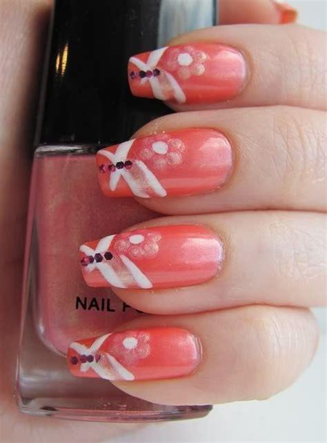 amazing coral nail designs   season pretty designs