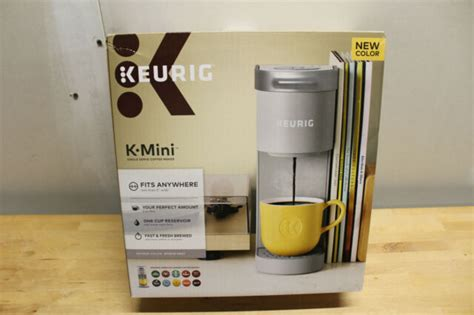 Most keurig coffee makers are single serve machines that can take three basic sizes which are 6, 8, and 10 oz. Keurig K-Mini Single Serve K-Cup Pod Coffee Maker - Studio Gray for sale online | eBay
