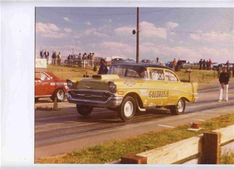 Photo 'gold Rush' 57 Chevy Gasser #2  57 Chevy Gassers