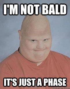 Baldness Meme - creepy bald guy