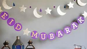 quot eid mubarak quot circle garland martha stewart