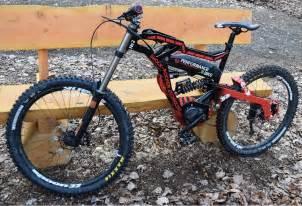Electric Mountain Bike Downhill