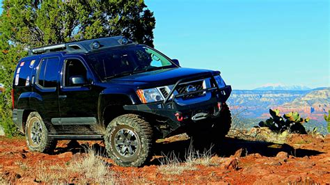 2014 Nissan Xterra Pro-4x Off Road At House Mountain Trail