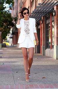 Womenu0026#39;s White Shorts And How To Wear Them 2018 | FashionTasty.com