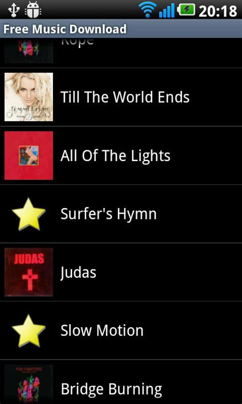 Top Free Android Apps To Download Music  Mp3 Downloader