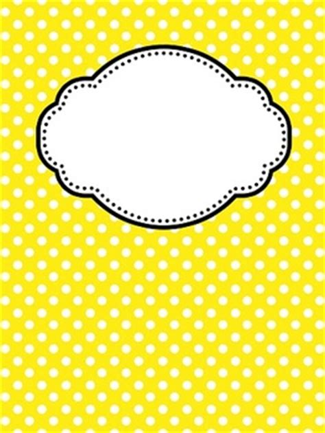 editable chevron  polka dot binder covers  teacher