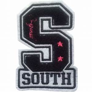 factory direct chenille custom iron on patch iron on With chenille letter patches