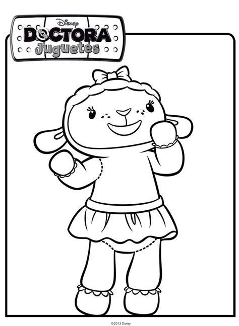 Dibujo De Una Ovejita Dibujos De Disney Para Colorear