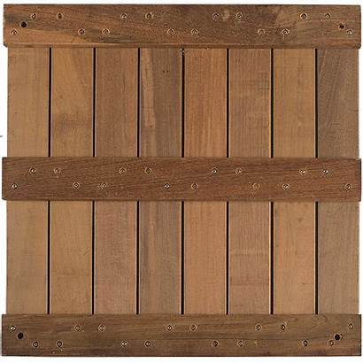 Wood Structural Ipe Bottom Panels Panel 24in