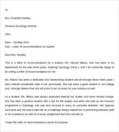 letter of recommendation pdf sle letter of recommendation for college 10 documents in pdf word