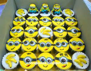 spongebob cake toppers jenn cupcakes muffins mickey and minion cupcakes