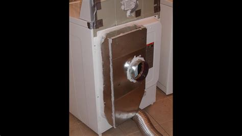 Modification Suprafit Box by Kenmore Dryer Modification Save Money On Heating