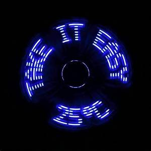 Cool Gadget  A Time Or Text Printing Usb Led Fan