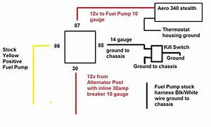 Fuel Pump Wiring Double Checking Having Issue