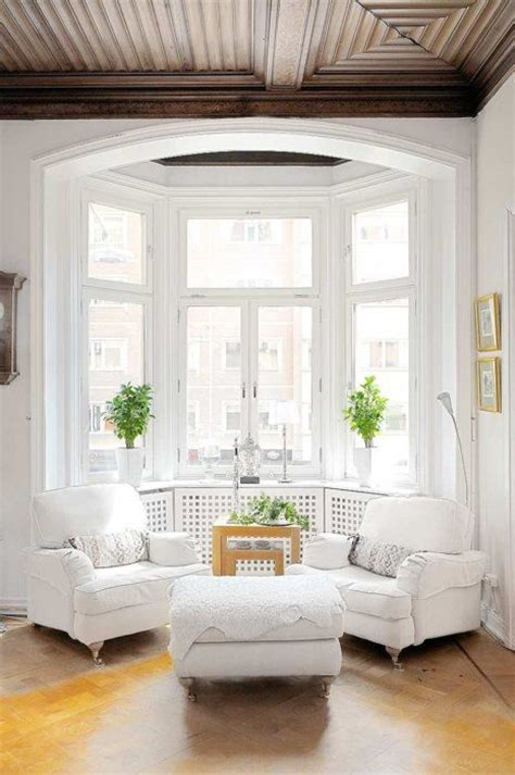 clean white living room designs flat