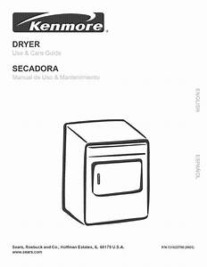 Kenmore Clothes Dryer User Manual