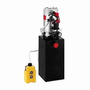 8 Quart Single Acting Hydraulic Pump Dump Trailer Repair