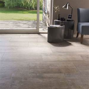 Carrelage sol et mur beige 30 x 60 cm abbiati castorama for Carrelage sol sejour salon