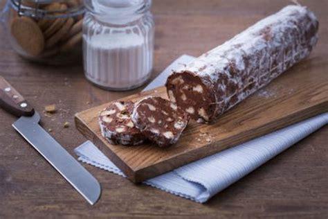 recettes cuisine minceur saucisson au chocolat facile avec thermomix plat et