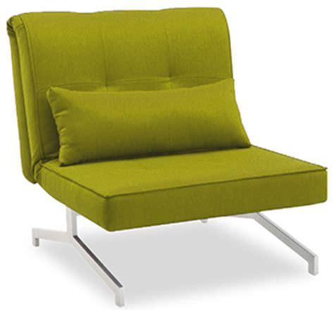 siege lit fauteuil convertible bz lit 1 personne vert contemporain fauteuil convertible et chauffeuse