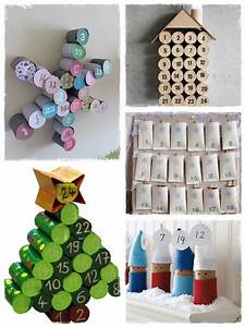 Calendrier Avent Rouleau Papier Toilette : 60 bricolages avec des rouleaux de papier toilette la cour des petits ~ Farleysfitness.com Idées de Décoration