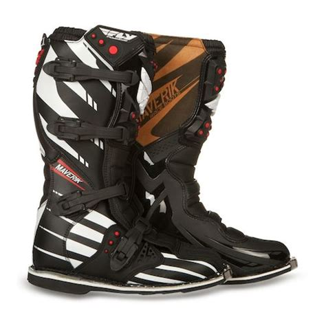 maverik motocross boots fly racing maverik mx f4 boots revzilla