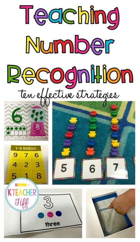 25+ Best Ideas About Number Recognition Activities On Pinterest  Preschool Number Activities