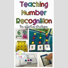 Best 25+ Teaching Numbers Ideas On Pinterest  Learning Numbers Preschool, Numbers Preschool And