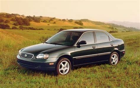 automotive service manuals 1996 suzuki esteem transmission control used 2001 suzuki esteem pricing for sale edmunds