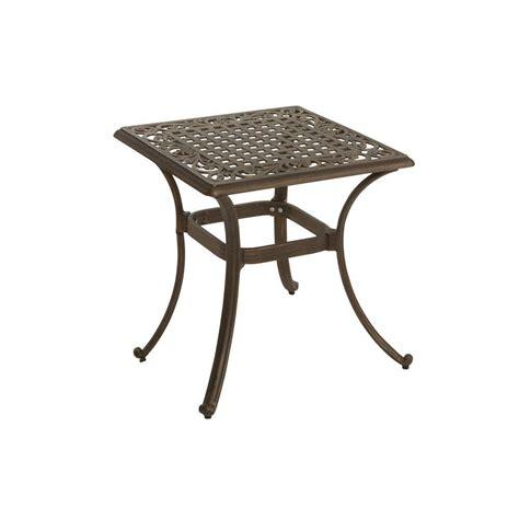 martha stewart living miramar patio side table ly58 st22