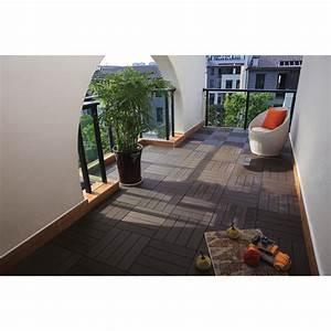 tuile a patio en composite 12 x 12quot boite de 10 cafe With boite a composte exterieur
