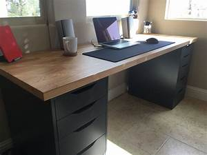 Ikea Schreibtisch Hack : diy computer desk ideas that make more spirit work diy ~ Watch28wear.com Haus und Dekorationen