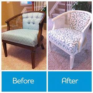 would you reupholster a chair to give it new life if With recover rattan furniture