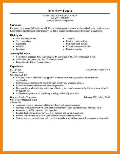 Resume Highlights Exles by 10 Resume Highlights Exles Writing A Memo