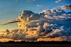 Cumulonimbus, Clouds, Storm, Winter, Rain, Clouds, Sunset, Tornadoes, Gray, Earth, Water, Wind