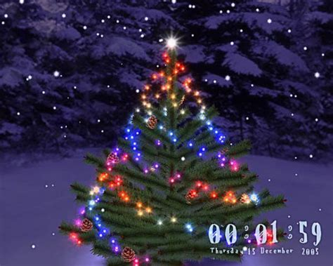 3d christmas tree screensaver download