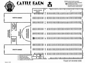 information layout for cattle shed cross plan With cattle barn layouts