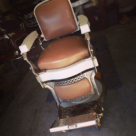 pin by sid custom barber chairs on restored antique