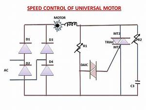 Speed Control Of Universal Motor Explanation