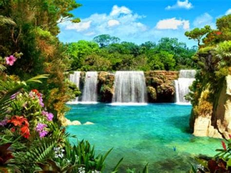 Animated Waterfalls Wallpapers Free - free animated waterfall wallpaper wallpaper animated