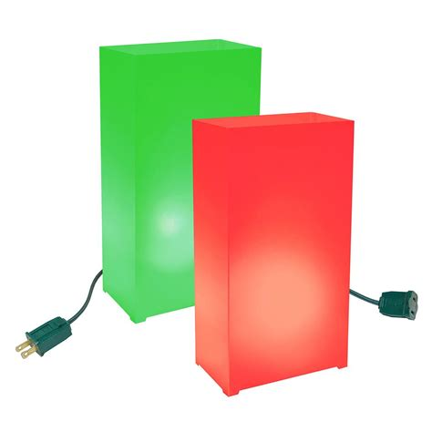 electric luminaries christmas lights decoratingspecial com