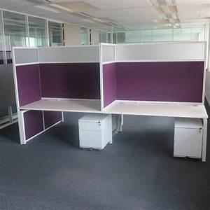 Bureau Professionnel Occasion : bureaux open space phoniques ~ Teatrodelosmanantiales.com Idées de Décoration
