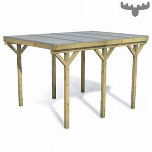 Garten überdachung Holz : fatmoose casacarport carport einzelcarport flachdach ~ Articles-book.com Haus und Dekorationen