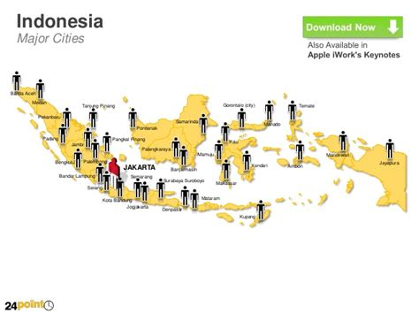 map  indonesia editable powerpoint