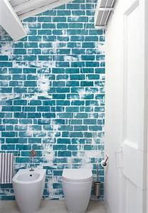 Wasserfeste Tapete Fürs Bad : fugenloses bad m tapeten von wall deco farbefreudeleben ~ Markanthonyermac.com Haus und Dekorationen