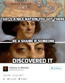hilarious history memes    shown  history class